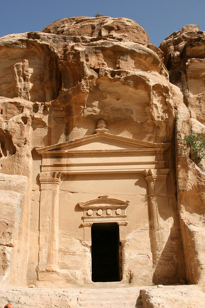 Little Petra (Siq Al-Barid) - This temple is near the entrance to the Siq, but little is known about it.