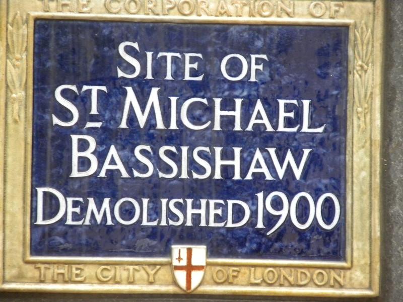 CC Plaque St Michael Bassishaw.JPG