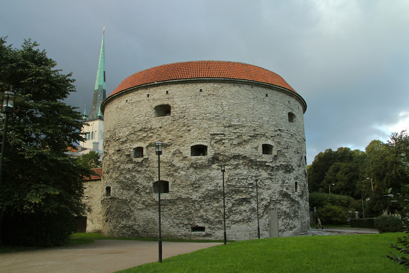 Fat Margaret Originally constructed in the 14th century, this tower was built as a defense against any hostile forces trying enter the city here.  She is 270 ft. in diameter and boasts 16 ft. thick walls.  -Tallinn, Estonia