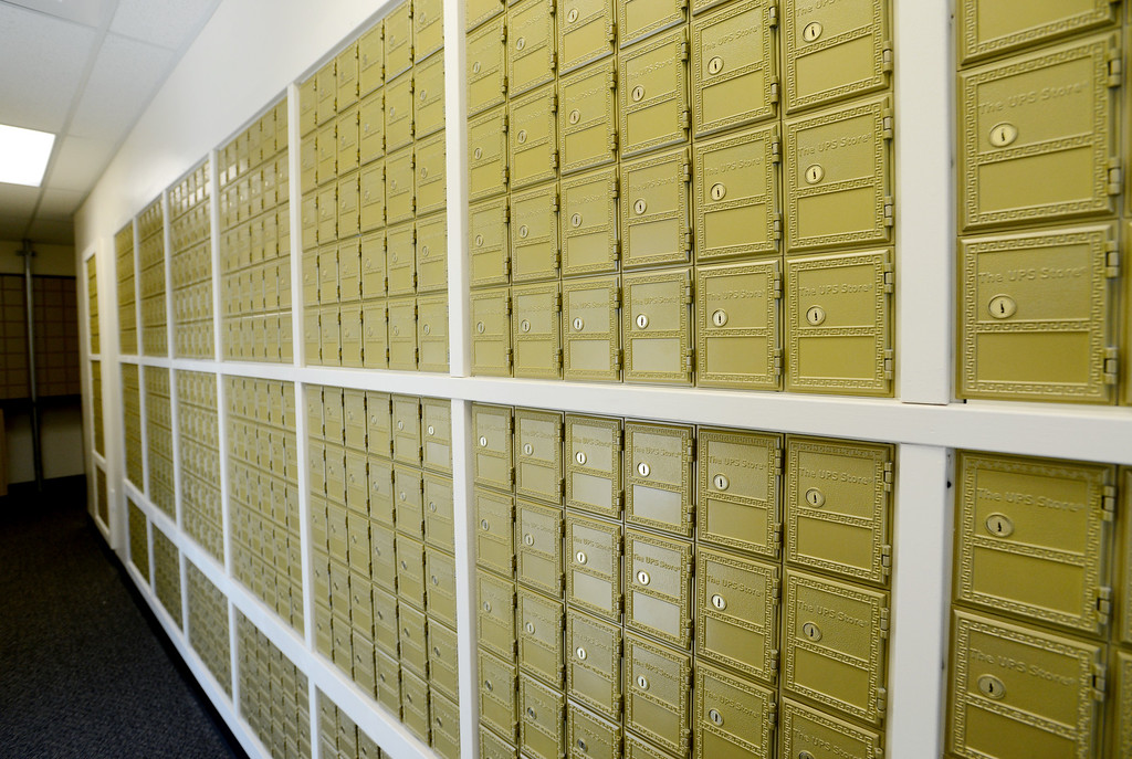 . Student mailboxes in the Kittredge Dorms building at the University of Colorado Tuesday morning. The Kittredge Dorms were newly remodeled and will be open for new freshmen housing. For more photos, go to www.dailycamera.com. Rachel Woolf/ For The Camera