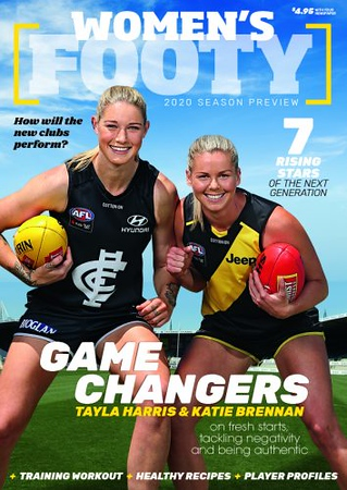 Women's Footy No 1 January 2020 (photo credit: News Corp Australia)