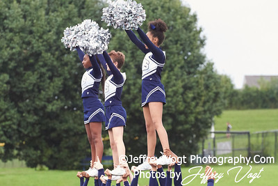 9-14-2018 Magruder HS Varsity Cheerleading at Magruder HS, Photos by Jeffrey Vogt Photography