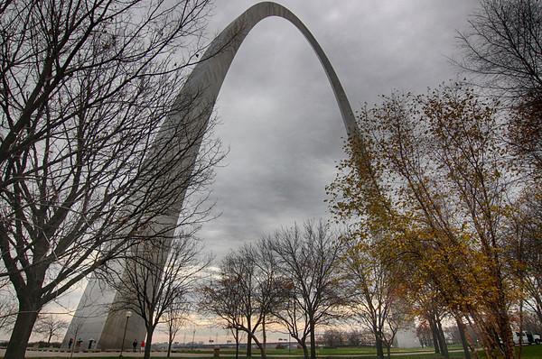 St Louis and a Bridge