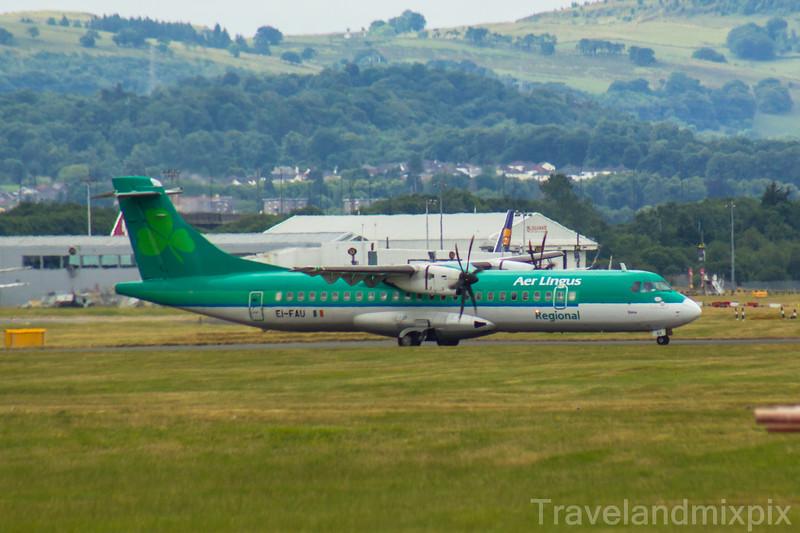 EI-FAU Aer Lingus Regional (Stobart Air) ATR 72-600 Glasgow Airport 21/07/2018