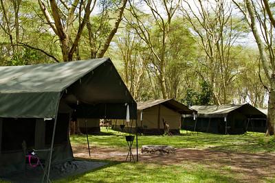 Tented Camp by Lake Manyara