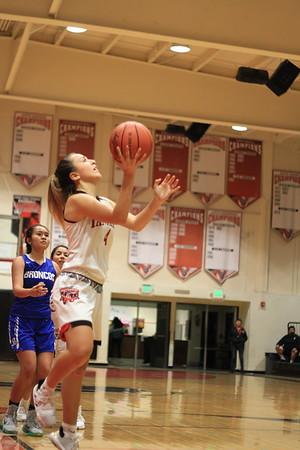 2019 11 25 Vista High School Girls' Basketball