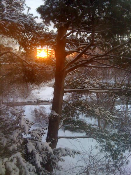 Reflected Sunrise