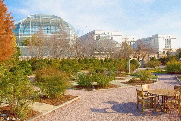 Botanical Garden Holiday Exhibit 2017