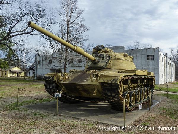 AL Post 24 - Blytheville, AR - M60A0 & 75mm Mountain Howitzer