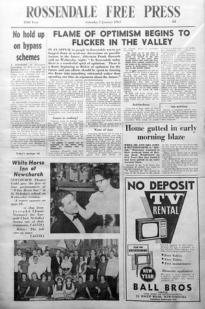 Free Press, 1967, January to July