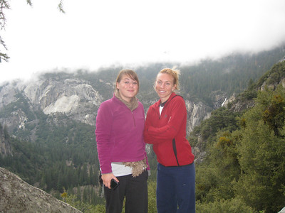 Yosemite with Kim and Amy