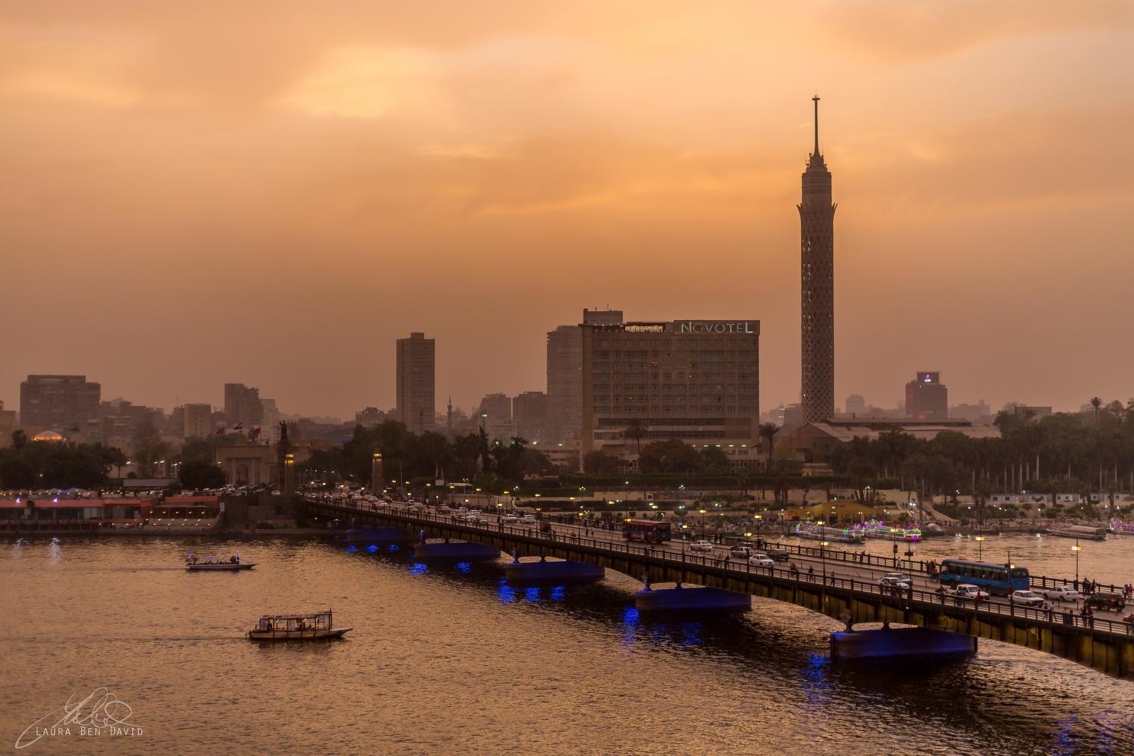 The Nile River...