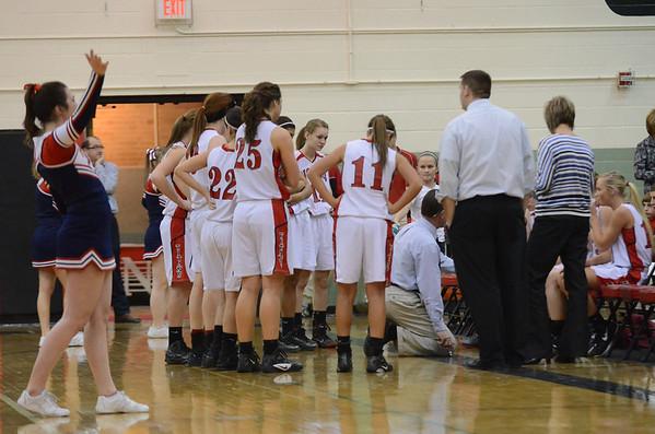 Varsity Girls Basketball vs Plattsmouth @ Districts