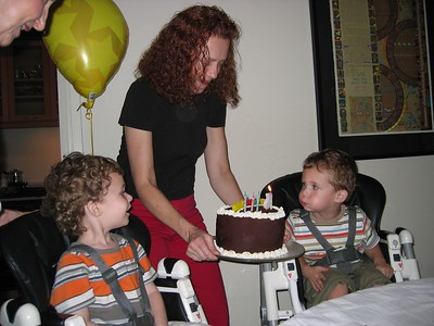 Charles and Zachary turn 3!
