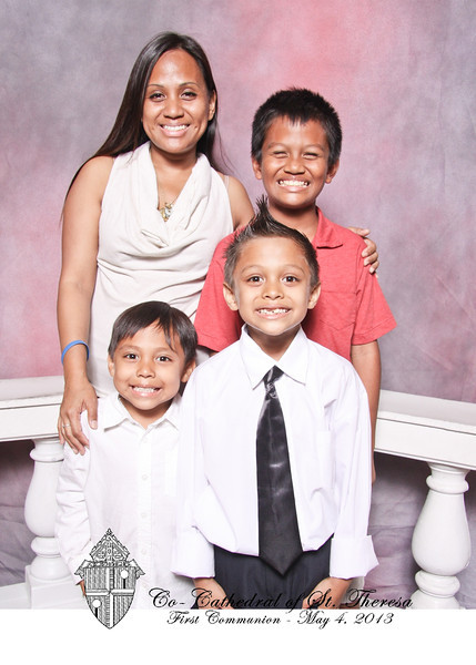 St. Theresa First Communion Portraits (Sat.- May 4)