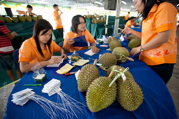 World Durian Festival in Chanthaburi 2011
