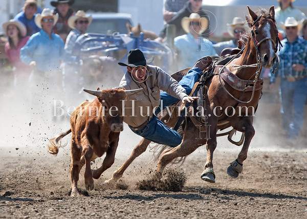 Steer Wrestling- Clinton 2012