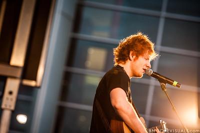 Ed Sheeran - Y100 Jingle Ball - 12/8/12