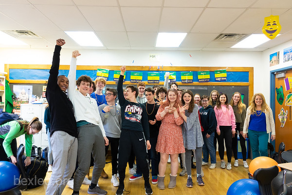 French Class Mardi Gras Celebration