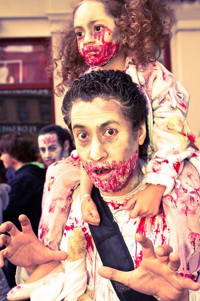 Zombie & child
