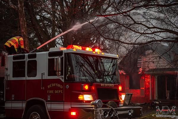 Redford MI, House Fire 1-30-2020