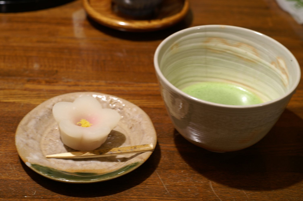 Japanese-Style Confection & Tea
