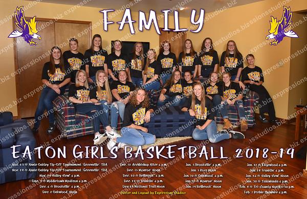 Girls Basketball Poster 2018