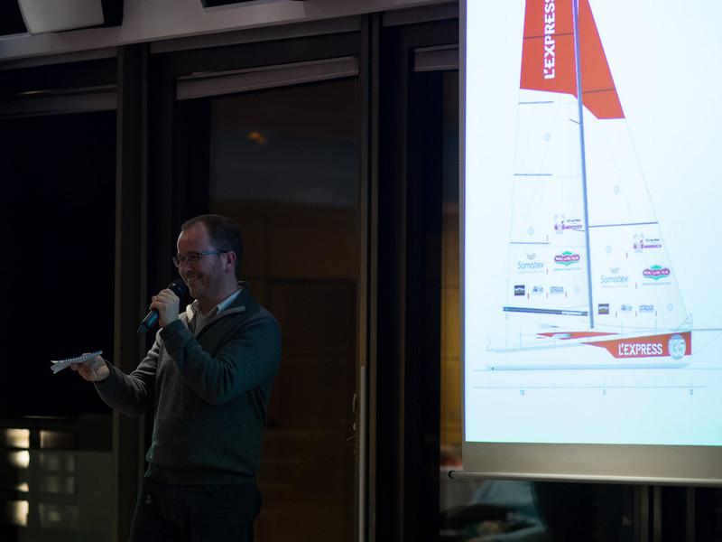 PYL: Présentation du projet Route du Rhum 2014 à l'Express