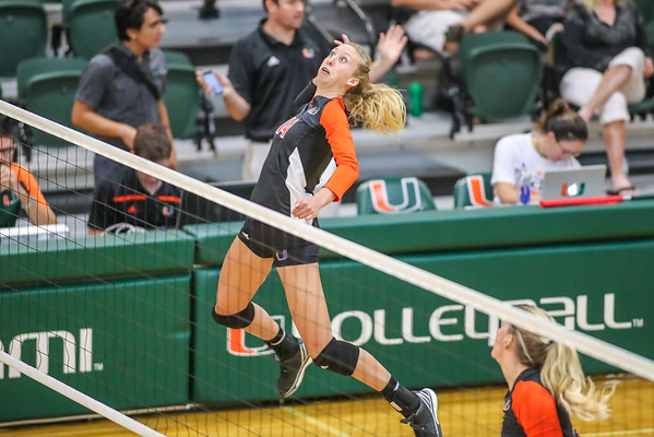 University of Miami vs. Notre Dame Volleyball, 2016