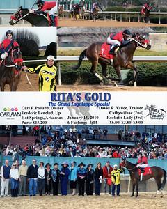 RITA'S GOLD - 1/15/2010