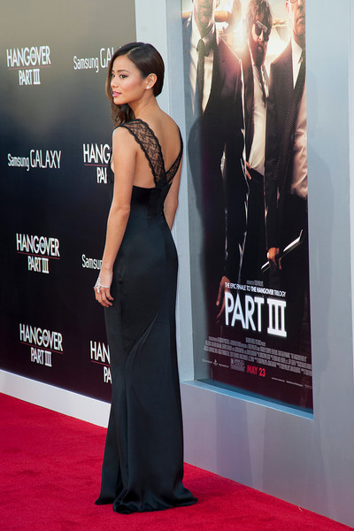 WESTWOOD, CA - MAY 20: Actress Jamie Chung attends the premiere of Warner Bros. Pictures' 'Hangover Part 3' at Westwood Village Theater on Monday, May 20, 2013 in Westwood, California. (Photo by Tom Sorensen/Moovieboy Pictures)