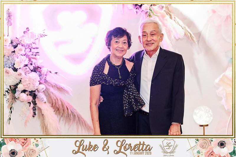 Wedding of Luke & Loretta | © www.SRSLYPhotobooth.sg