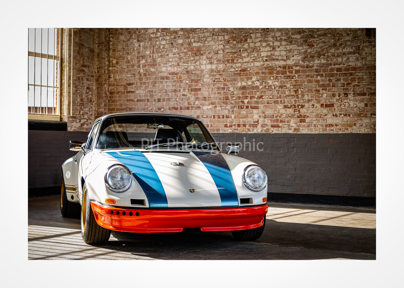 Magnus Walker Porsche 911 STR02 Hot Rod close up