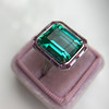 11.77ct Tourmaline Halo Ring by Leon Mege, AGL Cert 4