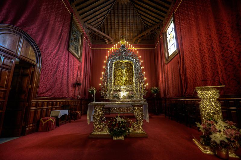 Chapel in Real Santuario del Cristo de La Laguna in Tenerife