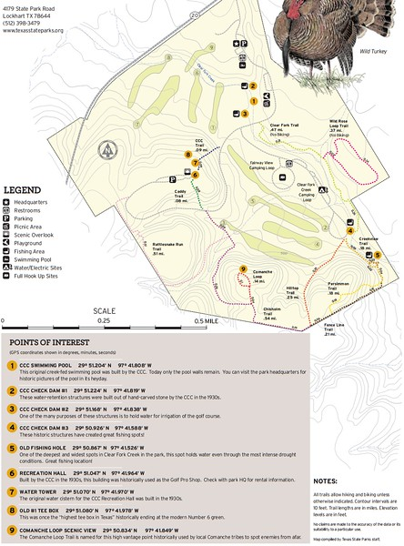 Lockhart State Park (Trails)
