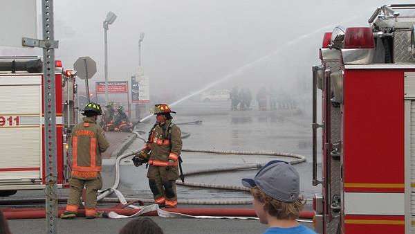 September 24, 2012 - 3rd Alarm - 825 Eglinton Ave. E.