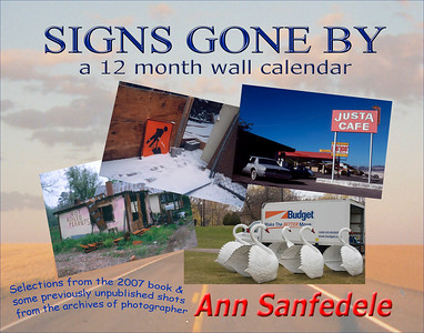 Signs Gone By - The Wall Calendar
