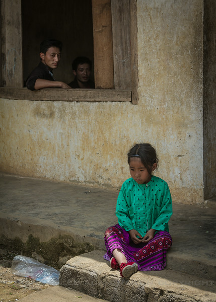 Another Sad Girl, Ha Giang Province, Northern Vietnam