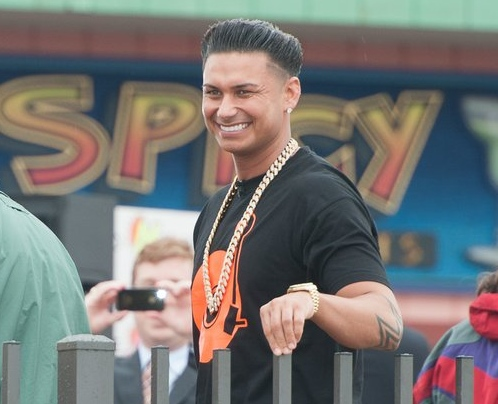 ". <p><b> Former �Jersey Shore� cast member �Pauly D� DelVecchio is back in the news with the revelation that he had a � </b> <p> A. Love child <p> B. Drug arrest <p> C. Dozen venereal diseases <p><b><a href=\'http://www.dailymail.co.uk/tvshowbiz/article-2475491/Did-Pauly-D-ask-mother-love-child-abortion.html\' target=""_blank\"">HUH?</a></b> <p>    (Dave Kotinsky/Getty Images)"