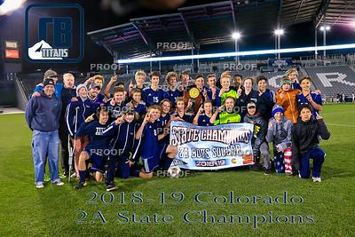 CBCS Boys Soccer Championships 11/10/18
