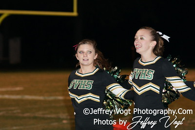 10-14-2011 Seneca Valley HS and Blake HS Cheerleading Poms, Photos by Jeffrey Vogt Photography