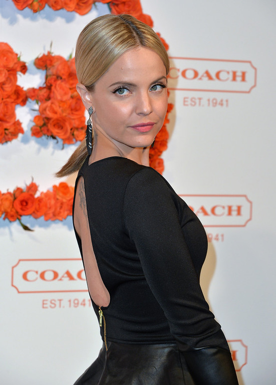 . Actress Mena Suvari attends the 3rd Annual Coach Evening to benefit Children\'s Defense Fund at Bad Robot on April 10, 2013 in Santa Monica, California.  (Photo by Alberto E. Rodriguez/Getty Images)