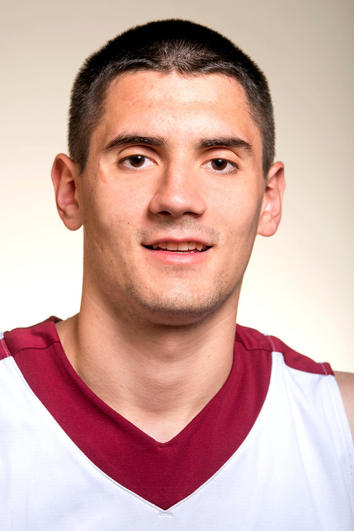 . Cantwell Sacred Heart High boys basketball player Gligorije Rakocevic has been selected for the Whittier Daily News\' All-area Team March 31, 2014.  (Staff photo by Leo Jarzomb/Whittier Daily News)