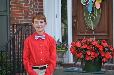 Alex 8th grade dance 2017