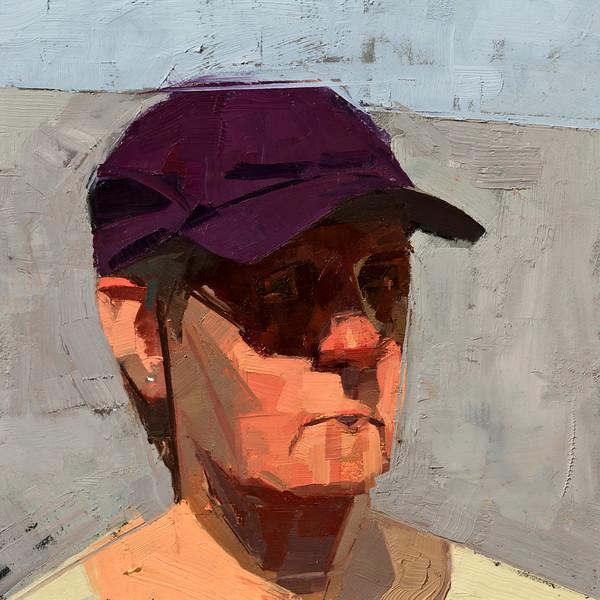 Purple hat (sold)