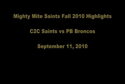 Coast to Coast TACKLE Football Fall 2010 VIDEOS
