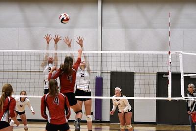 Black Hawk @ Barneveld Volleyball 9-5-19