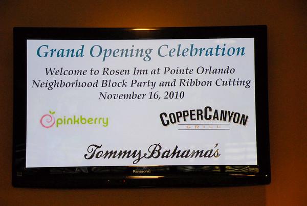 Rosen Inn Grand Opening 11-10