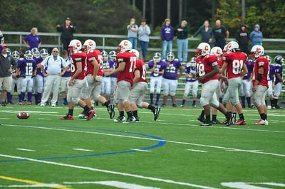 JV Football vs. Watertown 9-24-11